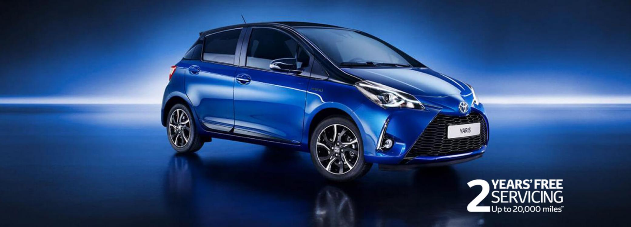 New Yaris Models Amp Features W R Davies Toyota Telford